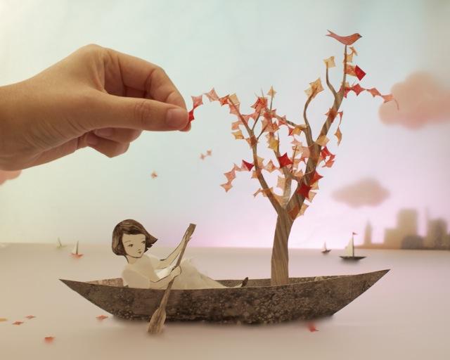 Buka Usaha Dengan Modal Kecil 3D Paper Craft, Untung 9 Juta Per Bulan